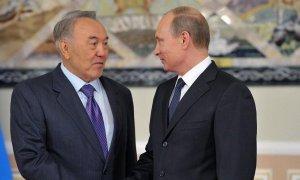 Нурсултан Назарбаев поздравил Владимира Путина с победой на выборах