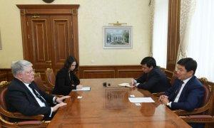 Аким Алматы встретился с Послом России в Казахстане