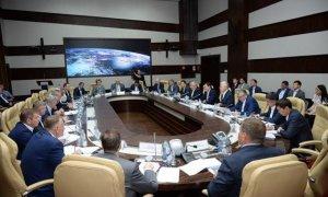 Первый вице-премьер РК провел переговоры с генеральным директором Роскосмоса