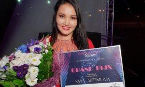 Казахстанская певица выиграла Гран-при конкурса в России