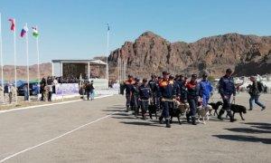 В Алматинской области прошли учения казахстанских и российских спасателей