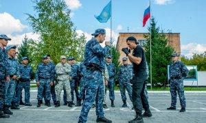 Казахстанские и российские полицейские провели совместные тренировки