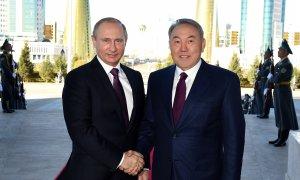 Нурсултан Назарбаев назвал отношения с Россией эталонными